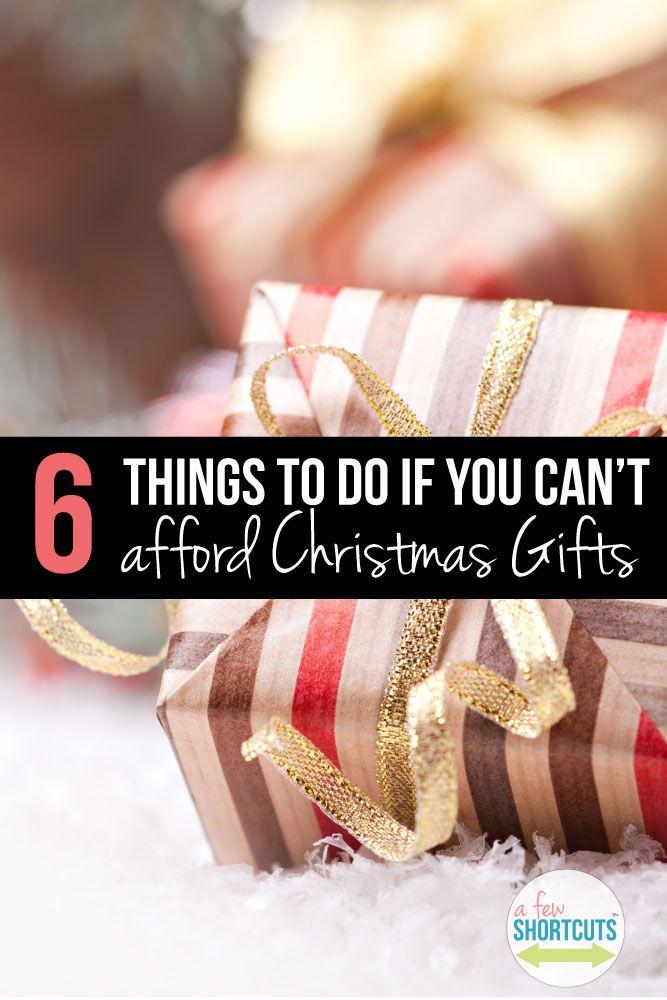 Going giftless christmas