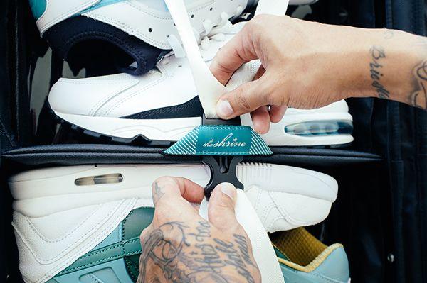 The Shrine Weekender Sneaker Pack On Behance