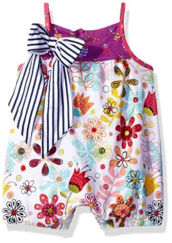 899e082beee5 Jelly The Pug Baby Girls Bubble Romper Floral Print 9MO   Click on the  image for additional details.Note It is affiliate link to Amazon.