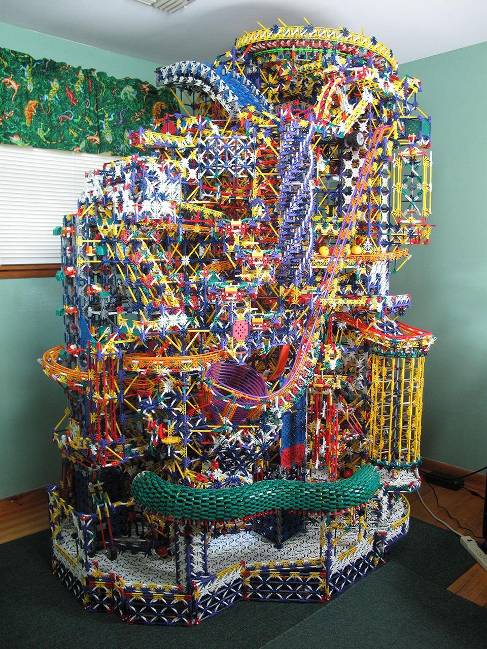 Citadel K'NEX Ball Machine Marble machine, The