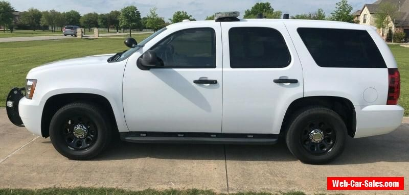 Car For Sale 2011 Chevrolet Tahoe Ppv Chevrolet Tahoe Cars For