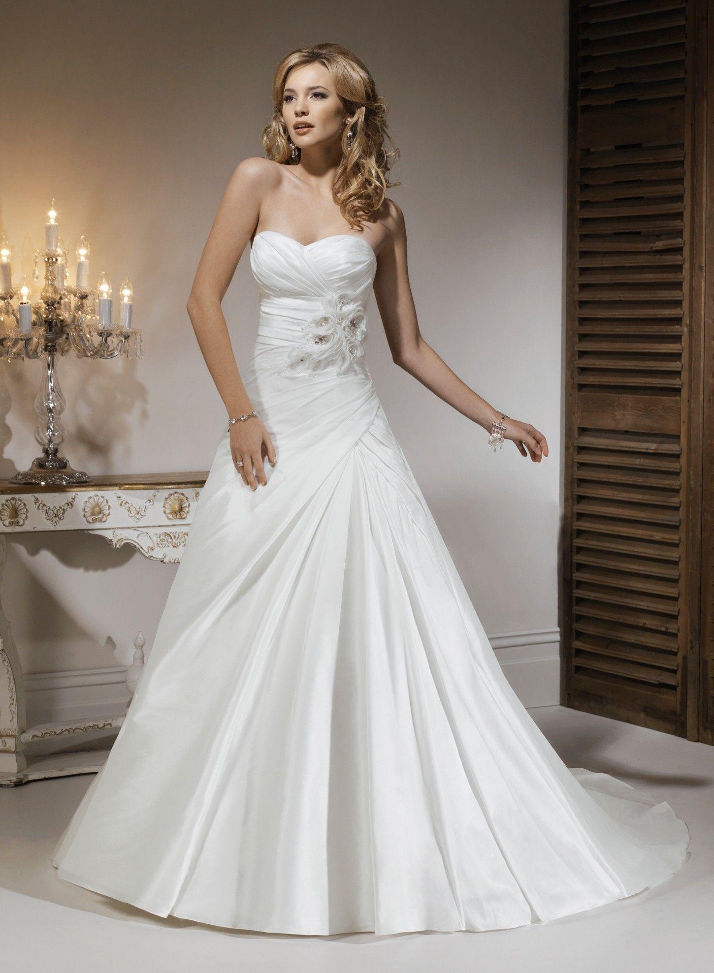 Aline Wedding Dresses http://www.myweddingprinter.com/aline-wedding ...
