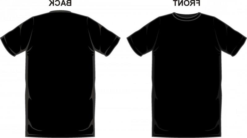 Blank T Shirt Design Template Psd New Black T Shirt Template Vector Sarahgardan Design Kaos T Shirt Design Template Blank T Shirts