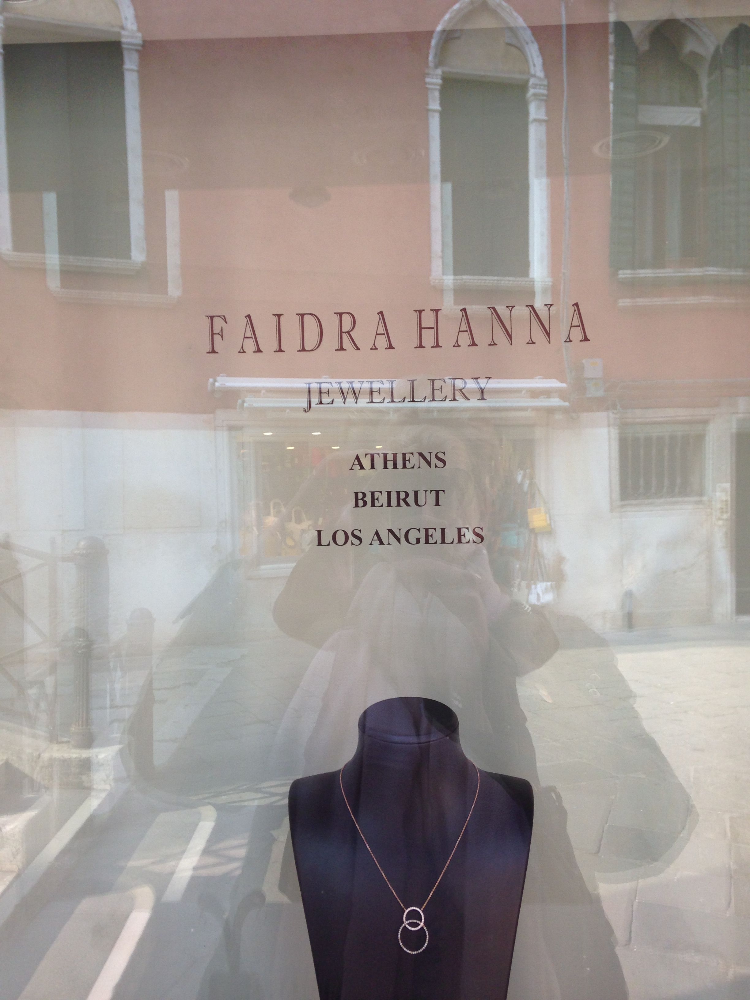 Faidra Hanna Jewellery shop in Venice