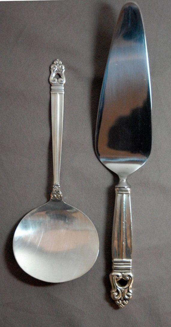 Vintage sterling silver International Royal Danish salad fork no monogram