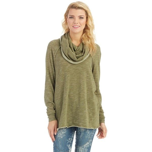 Free People Cocoon Pullover ($68) ❤ liked on Polyvore featuring ...