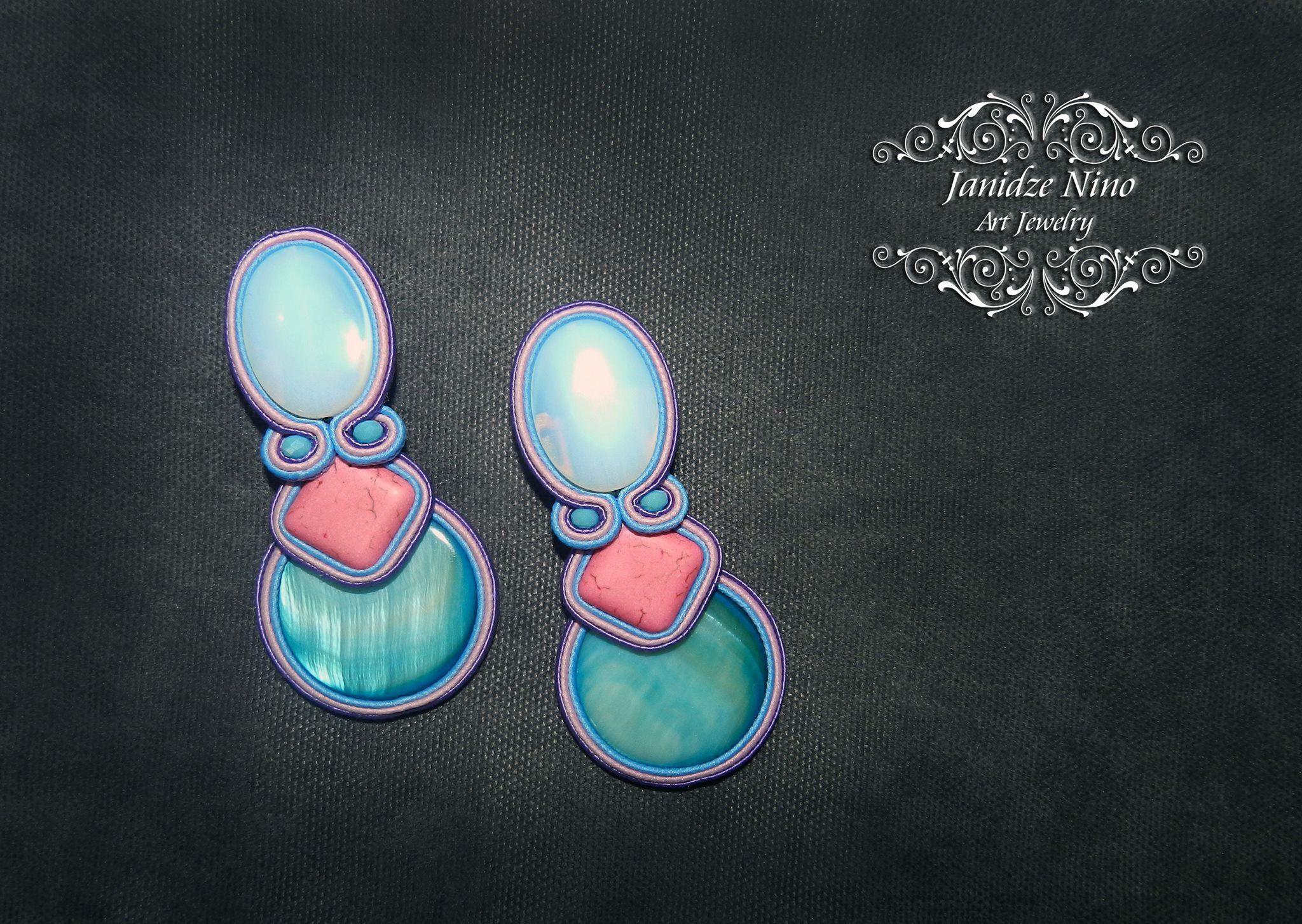 Pin by nino janidze on soutache jewelry pinterest soutache jewelry