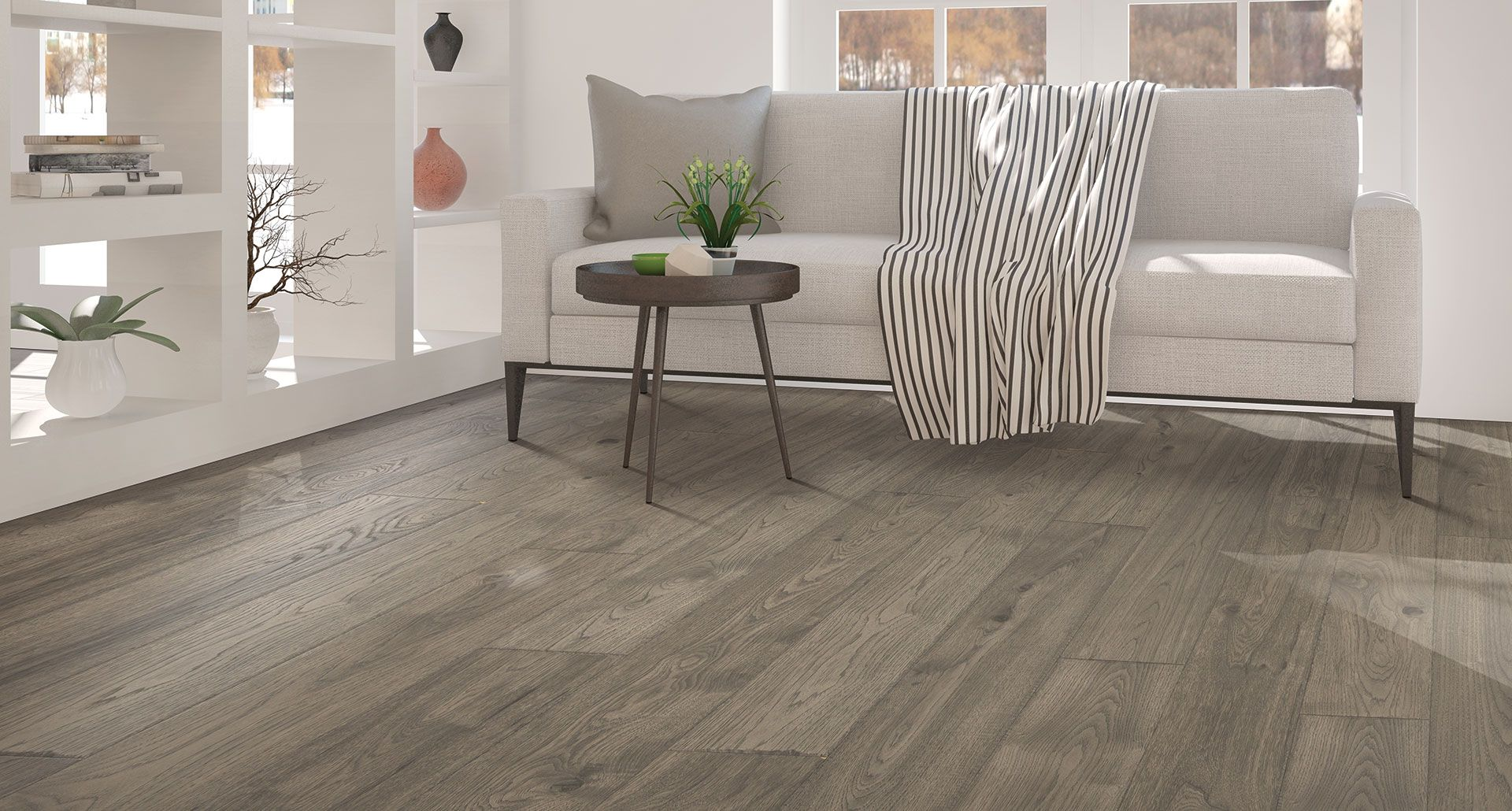 Anchor Grey Oak Laminate Floor Natural Wood Look 12mm Thick 1 Strip Plank Laminate Flooring Lifeti Laminate Flooring Colors Flooring Oak Laminate Flooring