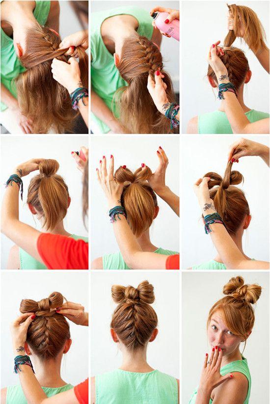 Videos De Como Hacer Peinados Faciles Paso A Paso Videos De Como Hacer Peinados Peinados Faciles Pelo Corto Peinados Para La Escuela Peinado Y Maquillaje