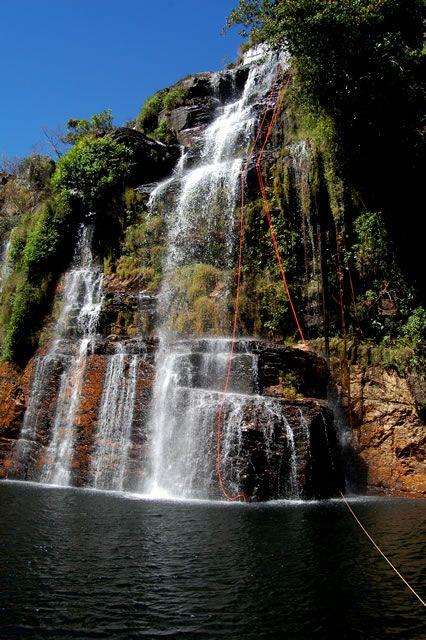 Cachoeira das Almécegas II, 76m, Parque Nacional da Chapada dos Veadeiros