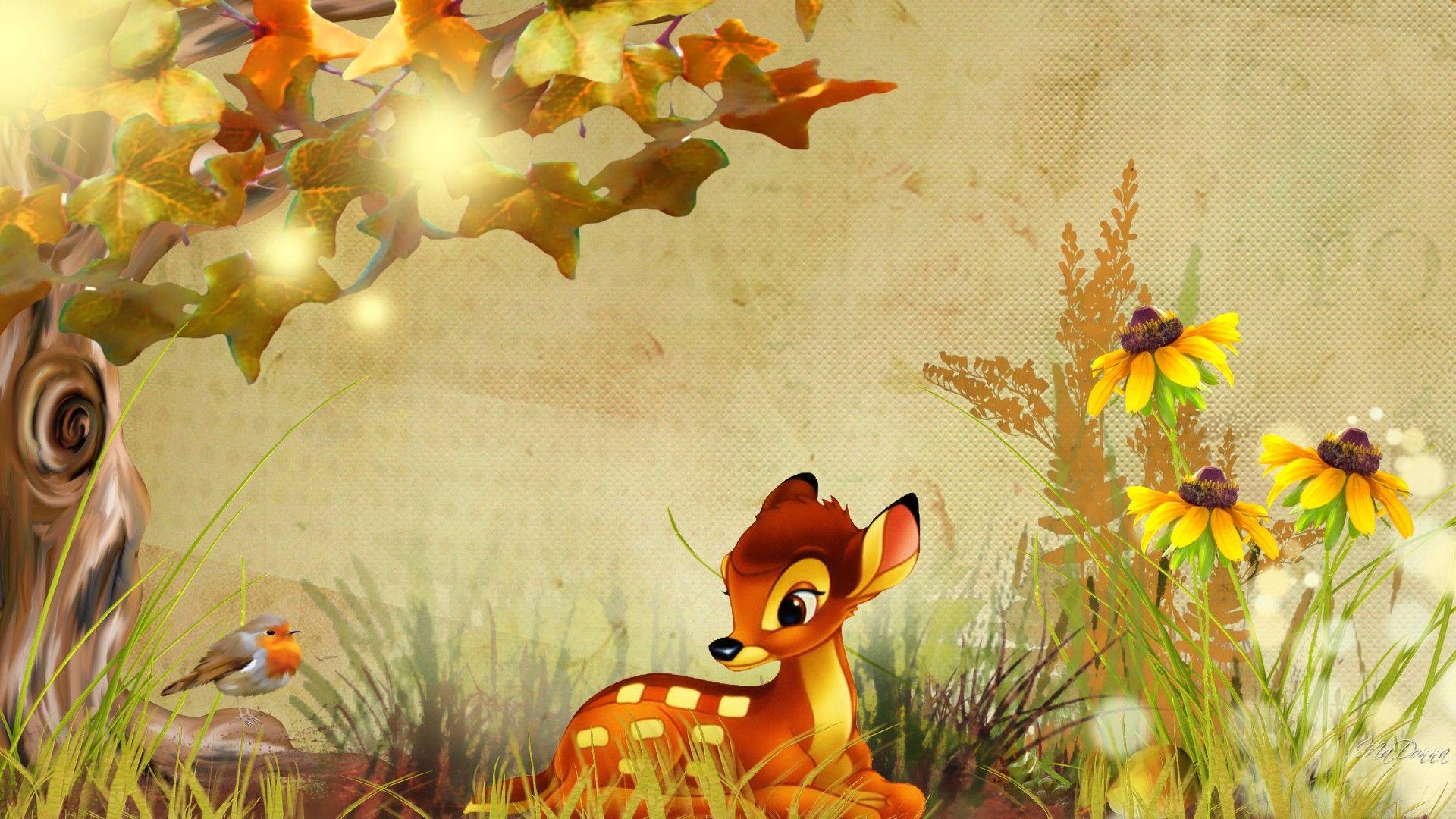 Красивые мульт картинки осень