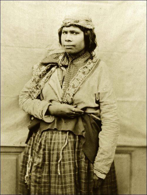 Unidentified Mikmaq Woman Ca 1857 1859 Mi Kmaq