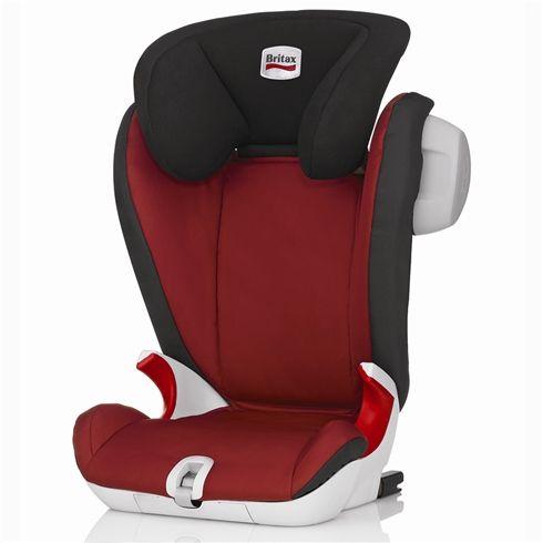 Britax Kidfix Sl Sict High Back Booster Seat Chilli Pepper 2014 Car Seats Toddler Car Seat Baby Car Seats