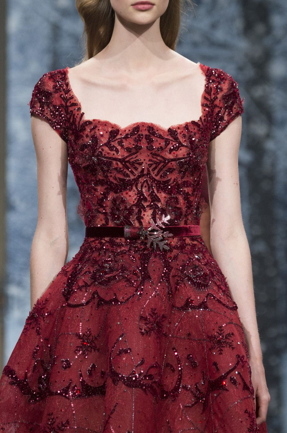 Ziad nakad couture fall itus all about the details