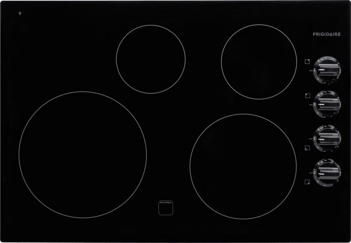 Frigidaire ffeclb knavish smoothtop electric cooktop with