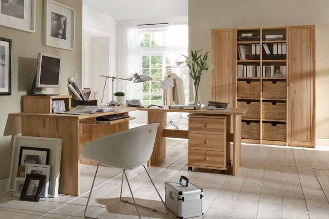 Nett massivholz büromöbel   Deutsche Deko   Pinterest