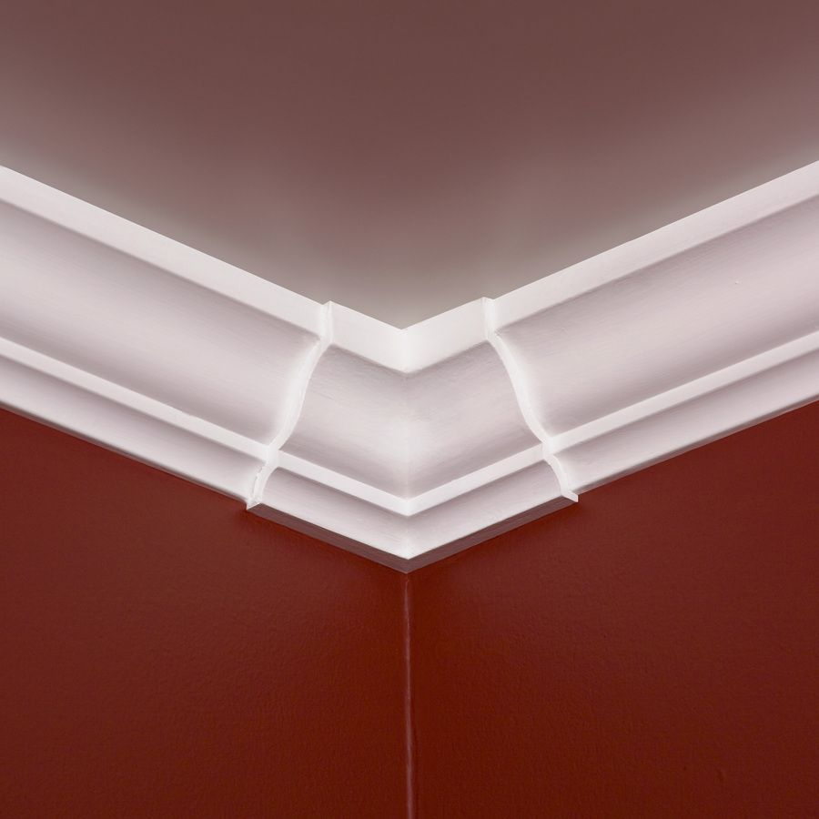 4 inch crown molding - Shop Evertrue 4 In X 4 In Crown Moulding Block At Lowes Com