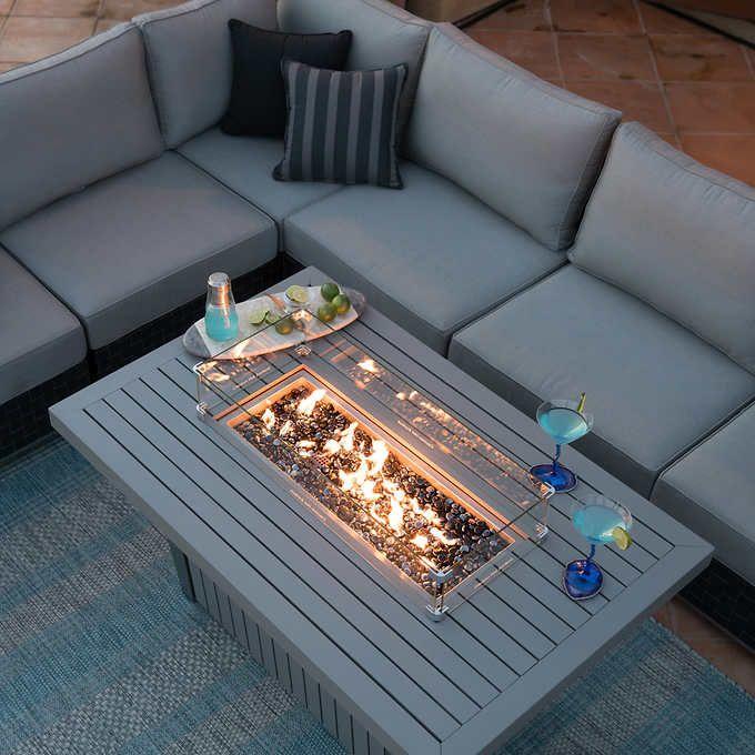 Costco Furniture Quality: $1200 / Costco / Soho Fire Table