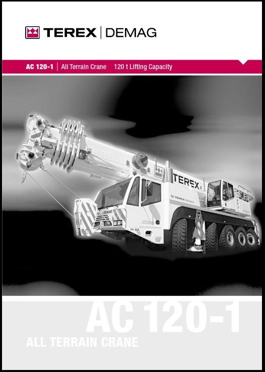 Terex-DEMAG-AC-120-1 | Crane Load Chart | Chart