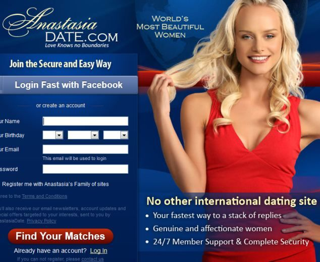 International dating websites for women