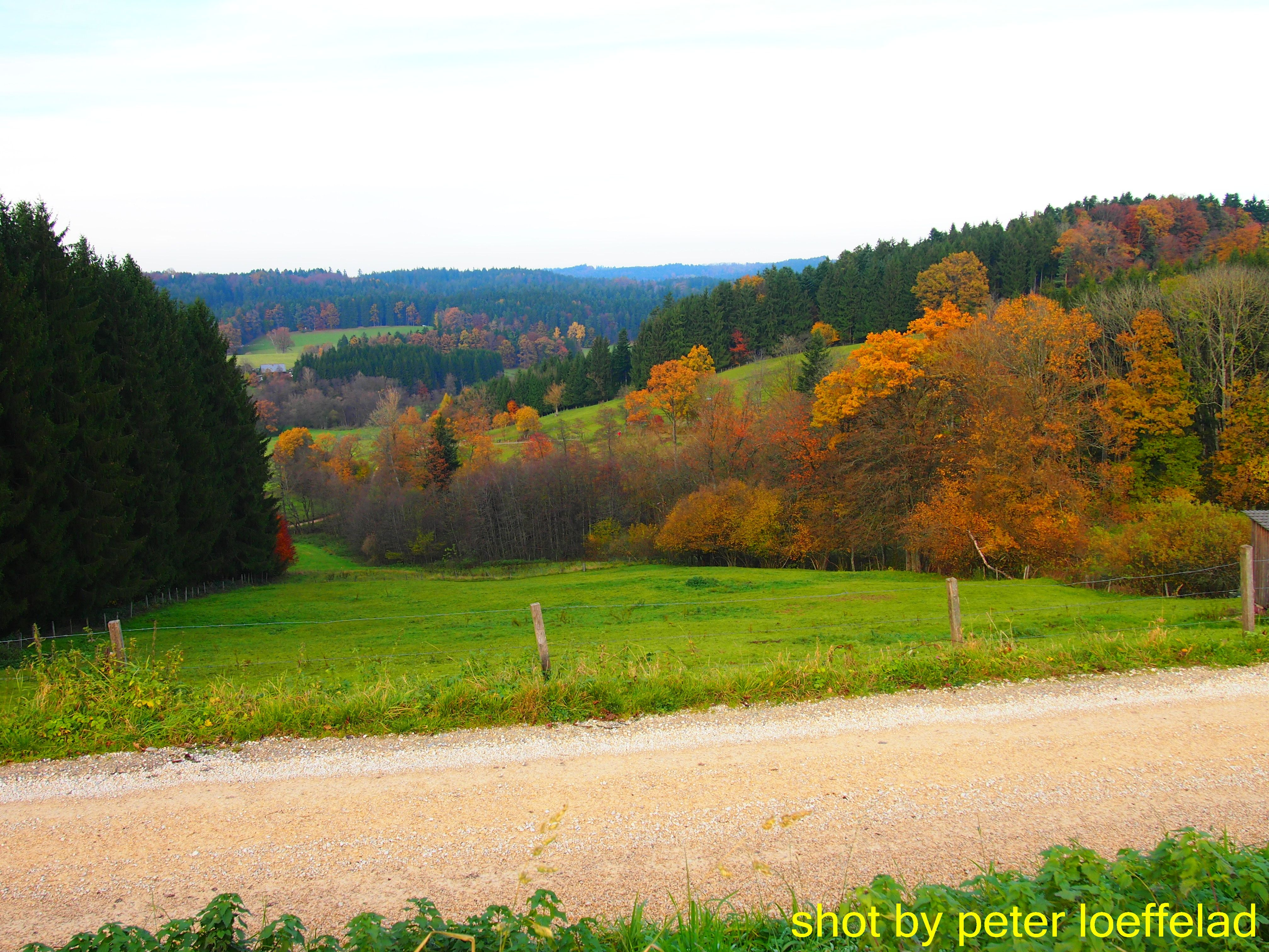 Herbst im Leintal > im Schwäbischen Wald >> zwischen Alfdorf und Spraitbach >>>