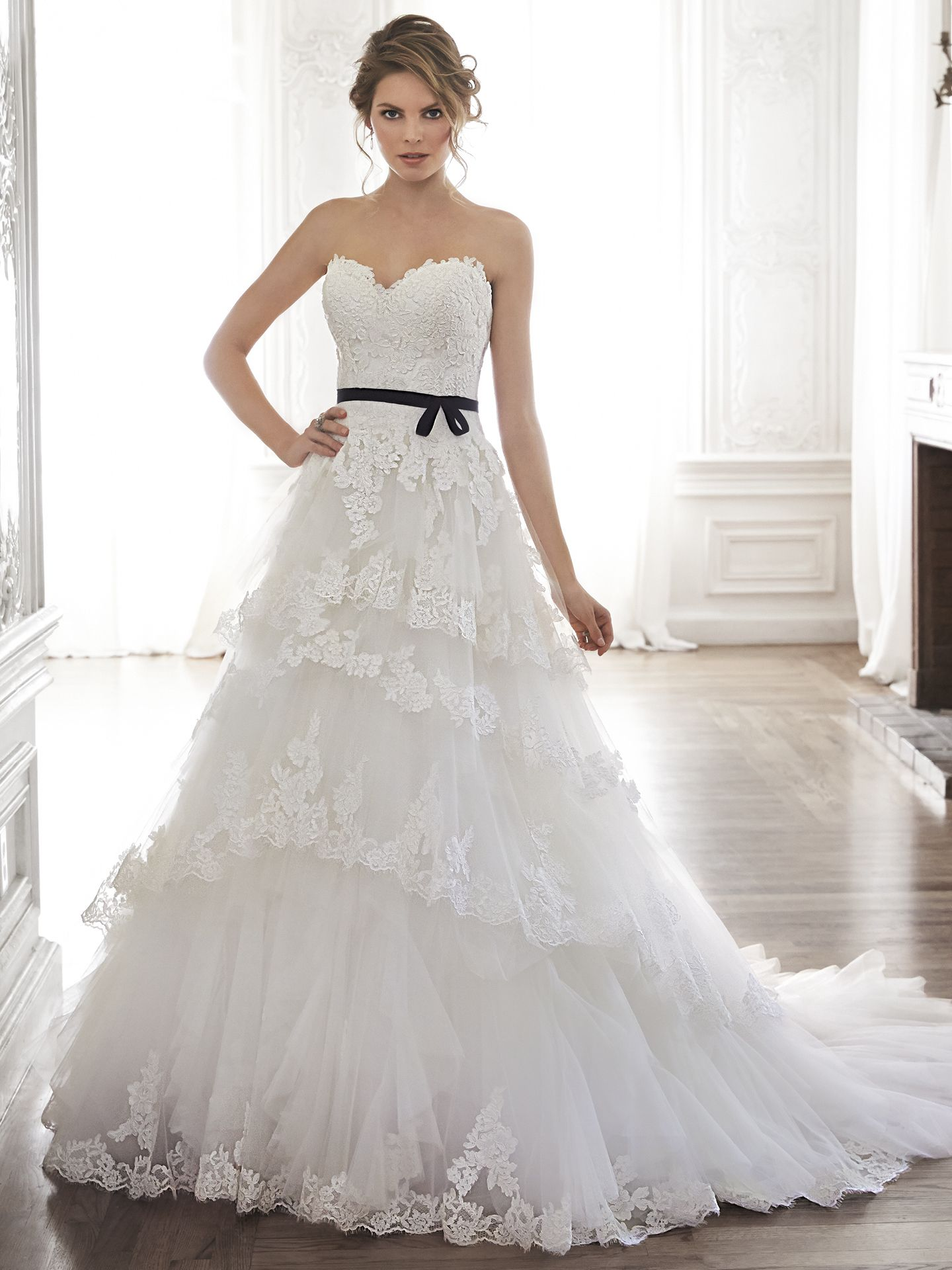 Lace ball gown wedding dresses  Maggie Sottero Wedding Dresses  Maggie sottero Lace ball gowns and
