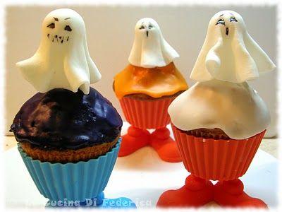 La cucina di Federica: Zucche, ragnetti, fantasmini...per Halloween ...