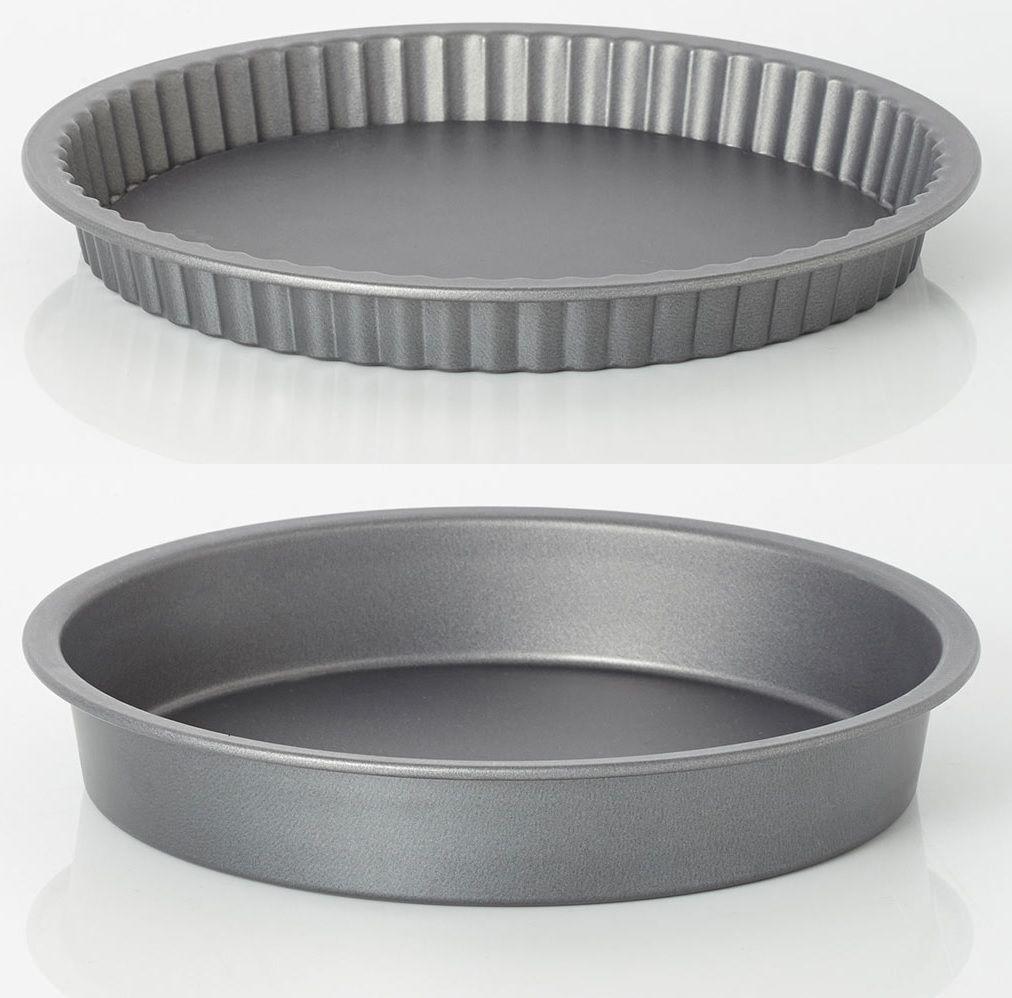 Essentials teflon coated 9 quche pan essentials teflon