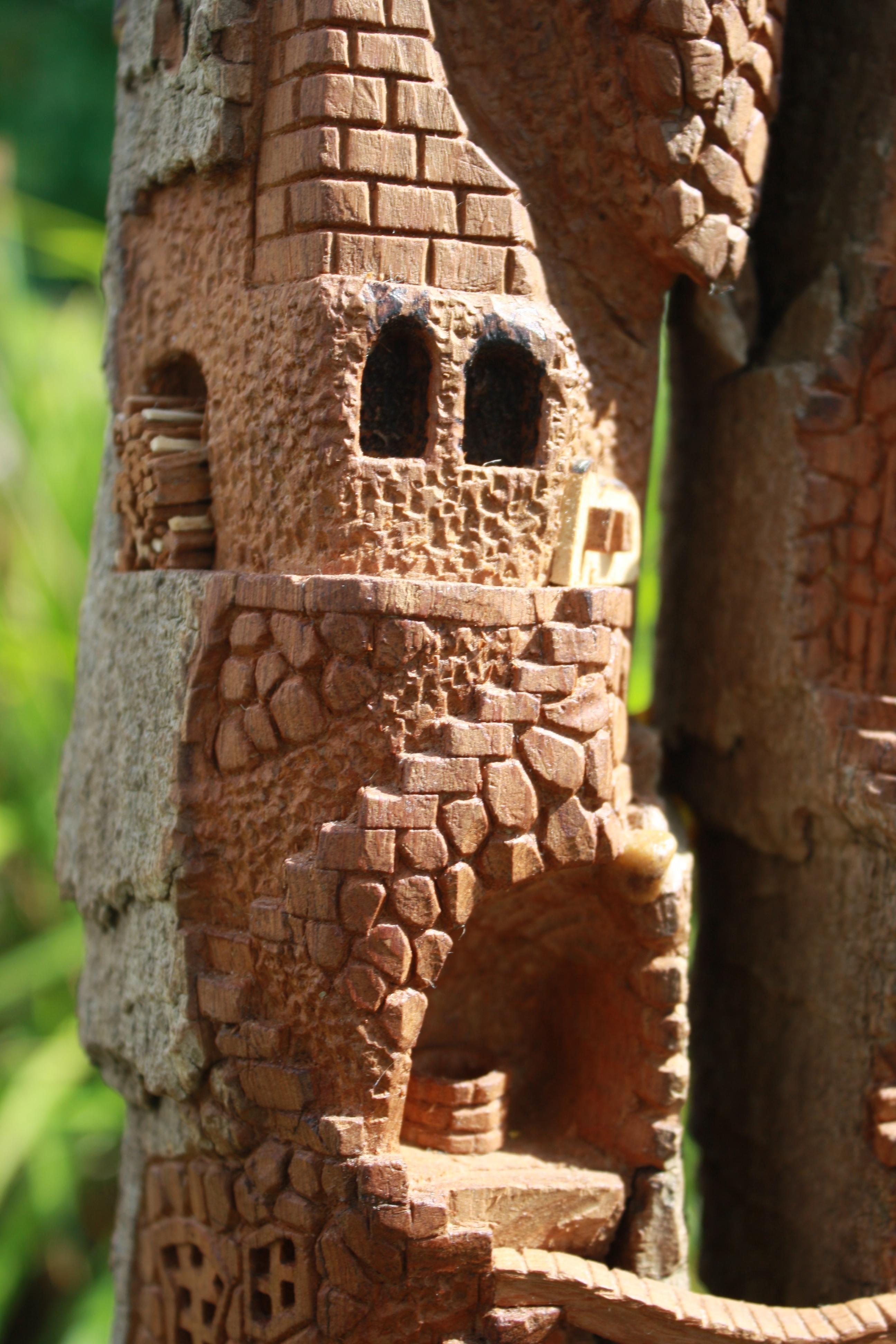 Cottonwood Bark on Pinterest | Fairy Houses, Gnome Home