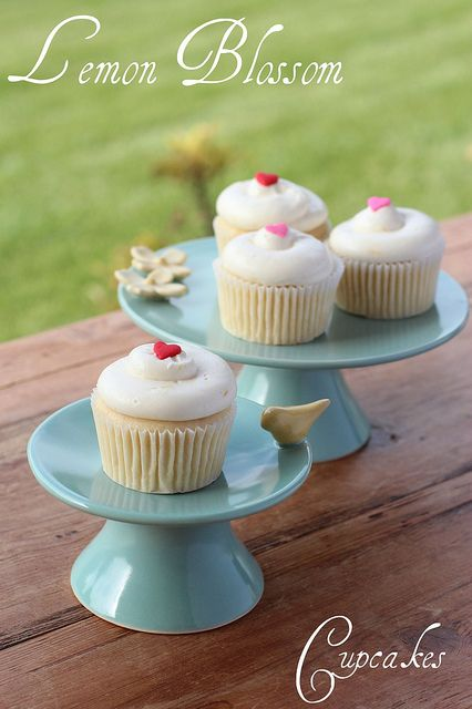 Lemon Blossom Cupcakes from Georgetown Cupcakes Cookbook by Food Librarian