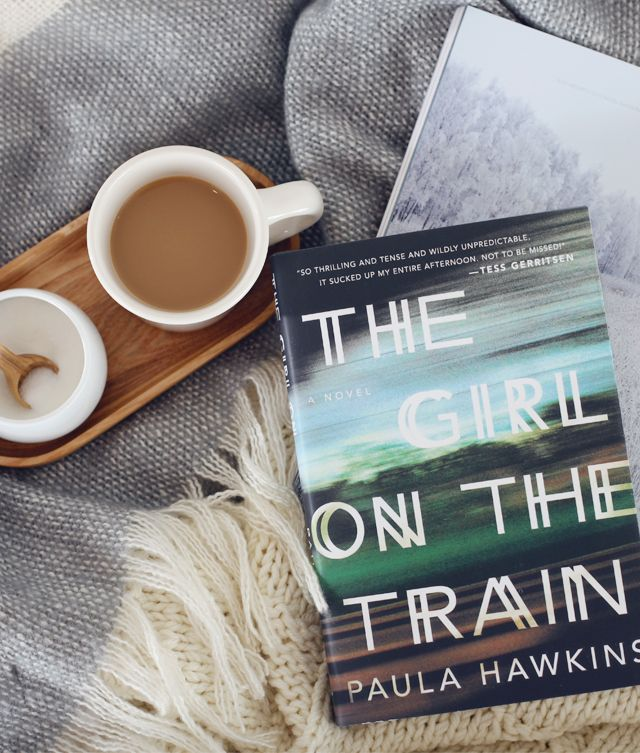 """""""The Girl On The Train"""" amazing read!"""