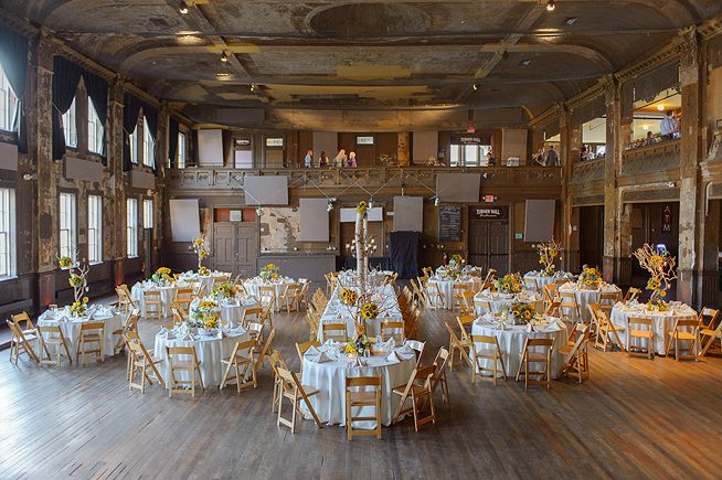 Milwaukee Wedding Ceremony Setup At Turner Hall Photo By Andy Stenz Planning Evenement Ceremonies Pinterest Weddings And