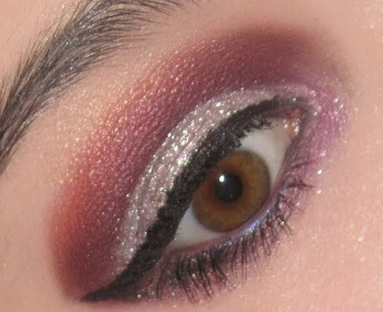 Purple and Silver EOTD