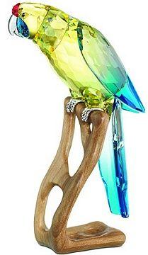 Swarovski Green Rosella Jonquil Mega Bird