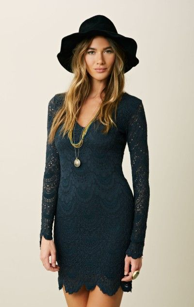 b9b97c5a98 86 the night cap...spanish lace dress I would love this in black for a  night out or white as a rehearsal dinner dress!