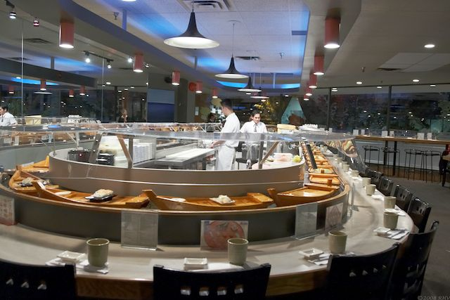 Tsunami sushi vancouver bc fresh sushi travels around for Bar food vancouver