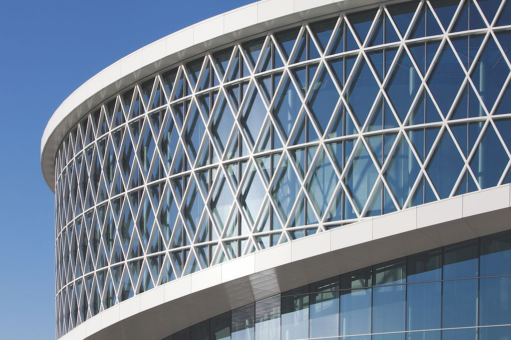 curtain walls from reynaers aluminium barco facade gallery on curtain wall id=74452