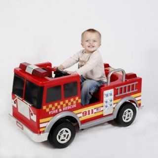 Big Toys Pedal Fire Truck Toy Fire Trucks Fire Trucks Ride On Toys