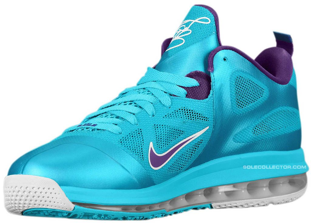 687d6bbb5ce Nike LeBron 9 Low Summit Lake Hornets