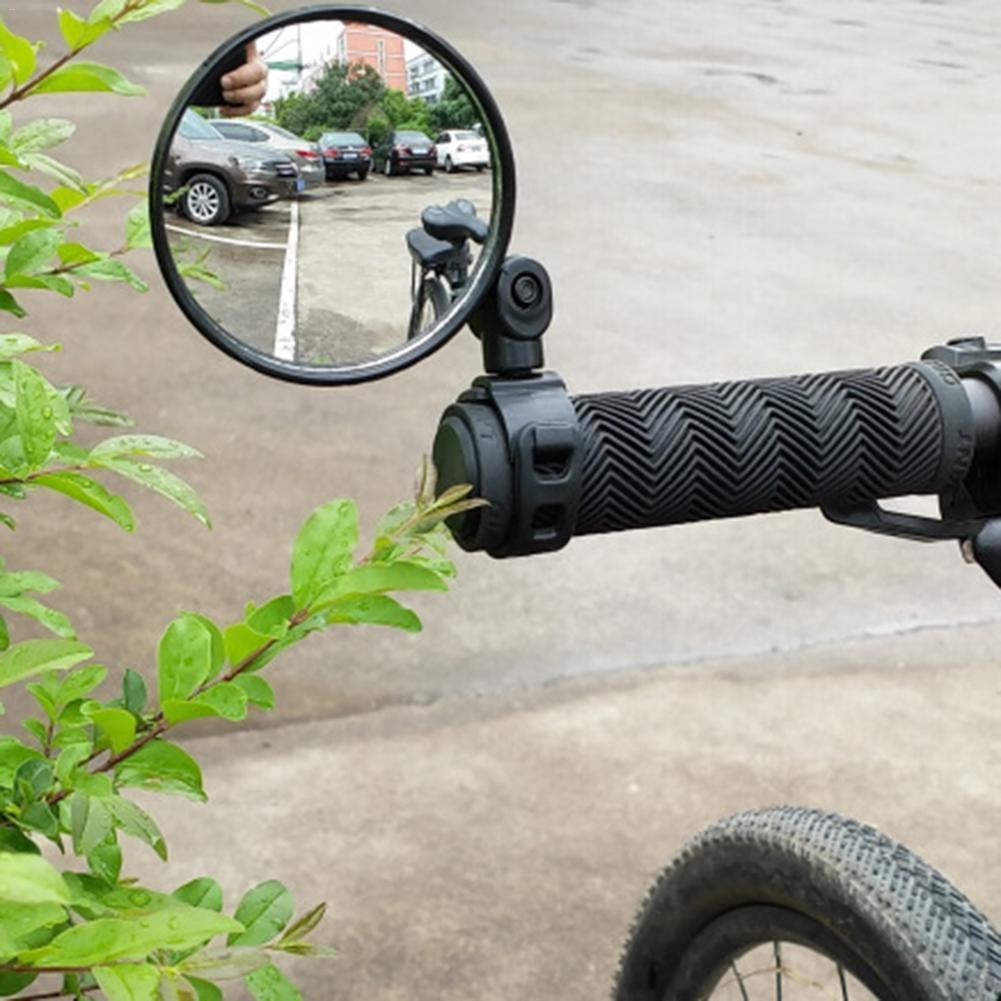 Free Bicycle Rear View Handlebar Mirrors Bike Mirror Comfort