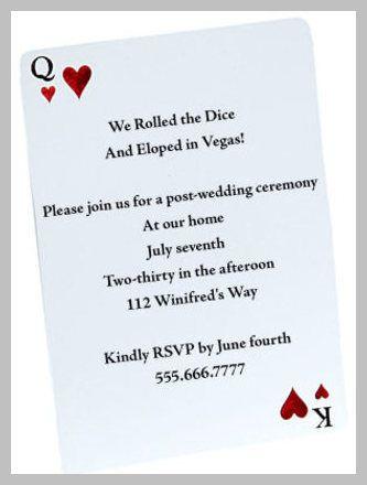 Wedding Invitation Wording - Using Letterpress Wedding Invitations - invitation wording for elopement party