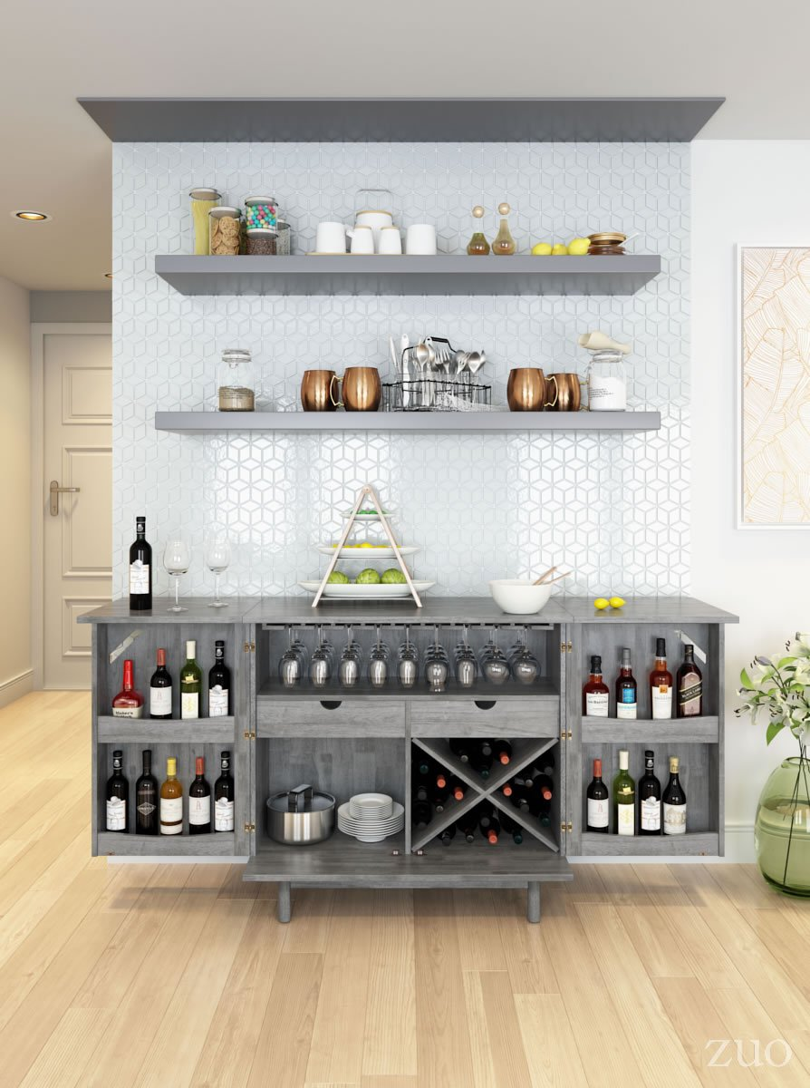 Rave Old Gray Bar Dining Room Bar Bars For Home Home Bar Designs