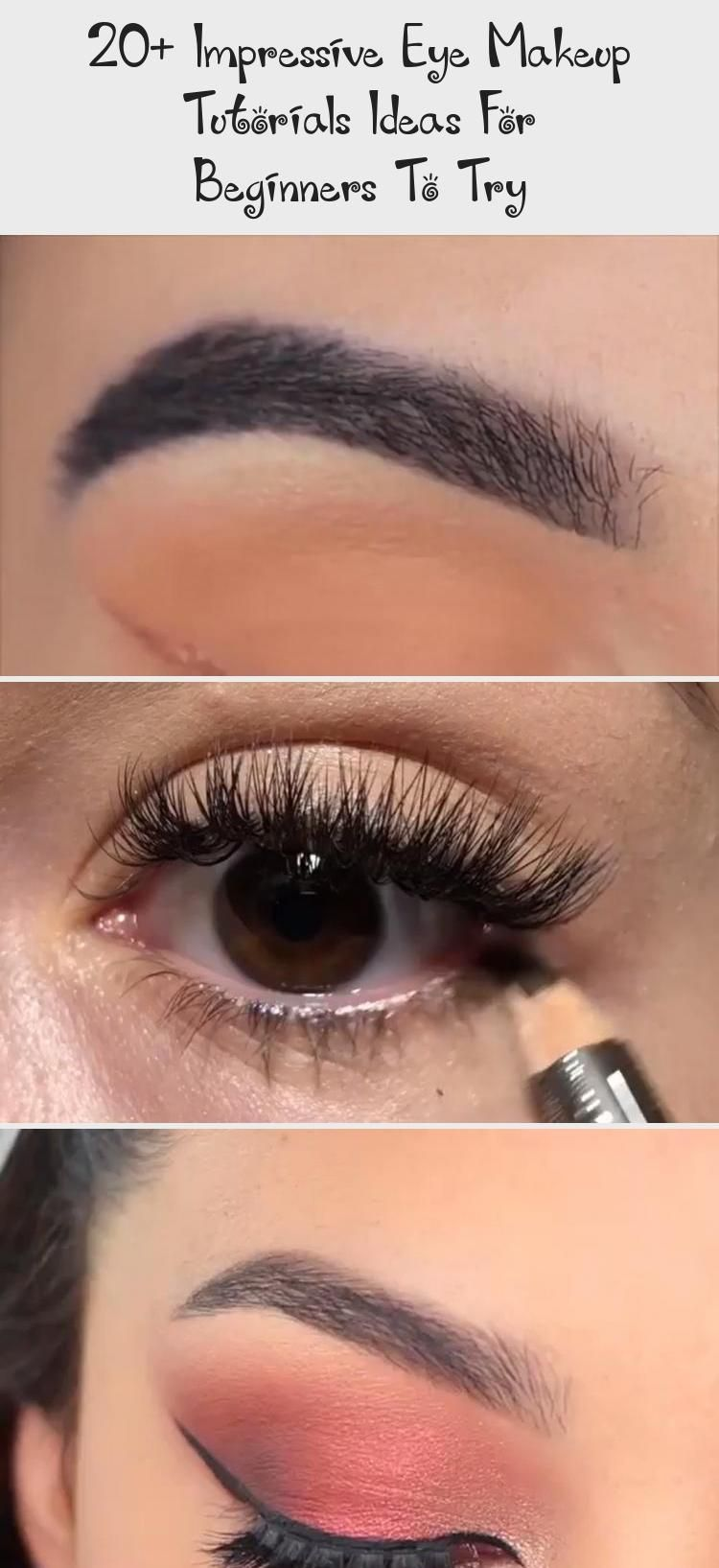 20+ Impressive Eye Makeup Tutorials Ideas For Beginners To