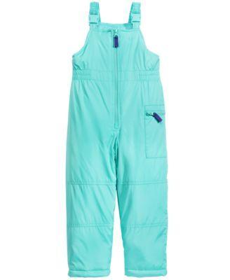 Carter's 2-Pc. Hooded Jacket with Faux-Fur Trim & Pants Snowsuit ...