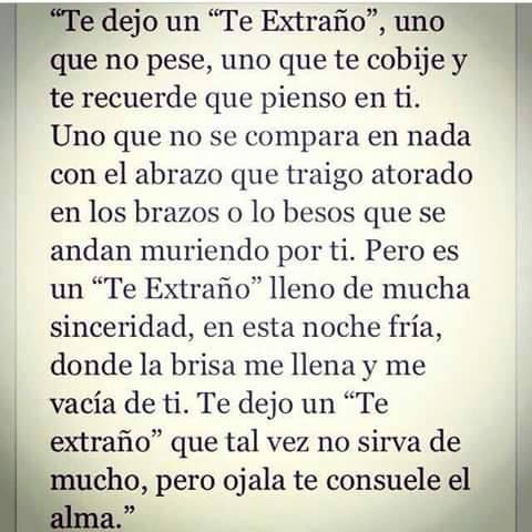 Te Extrano Y Mucho Amor Mio Frases Te Extrano Amor Y Frases