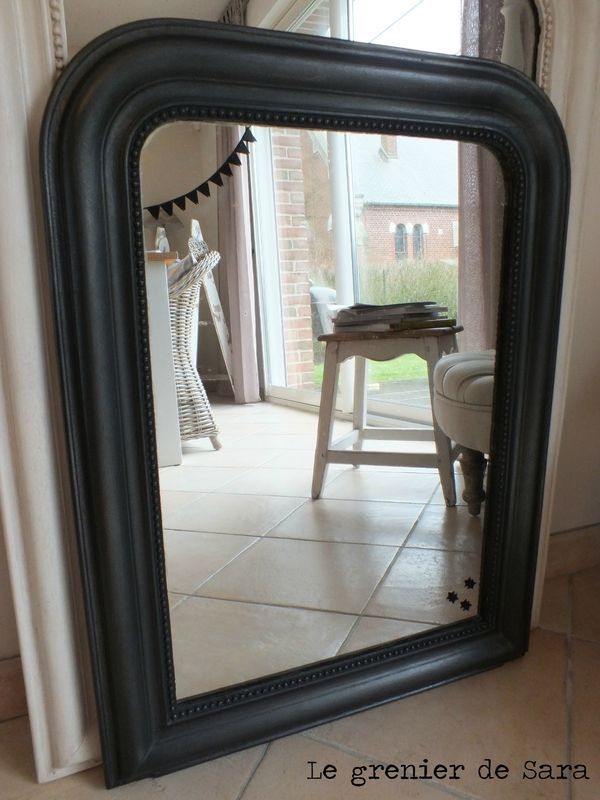 miroir 16 patin 1 diy pinterest miroirs d co maison et id es pour la maison. Black Bedroom Furniture Sets. Home Design Ideas