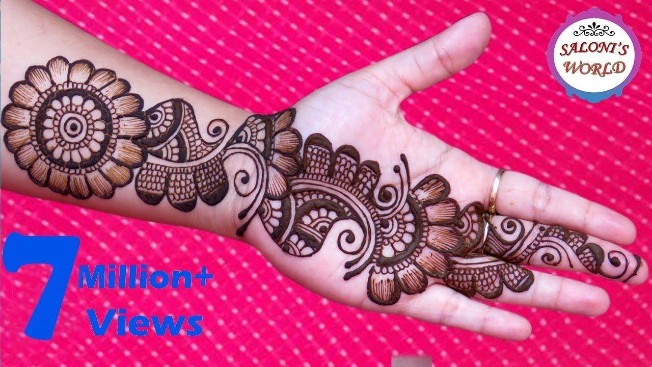 Pin By Renuka On Renu Simple Arabic Mehndi Designs Mehndi