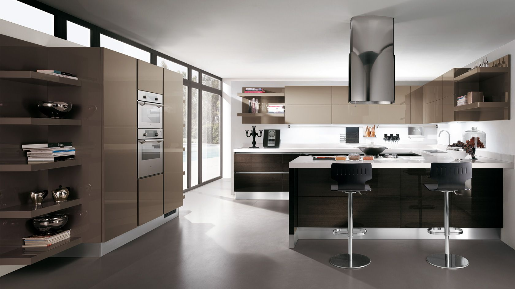 Scavolini - scenery line | Kitchen | Pinterest | Scenery, Kitchens ...