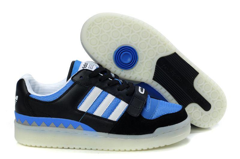 For Adidas Forum Lo Ot Techs Shoes Men Black Blue Discount