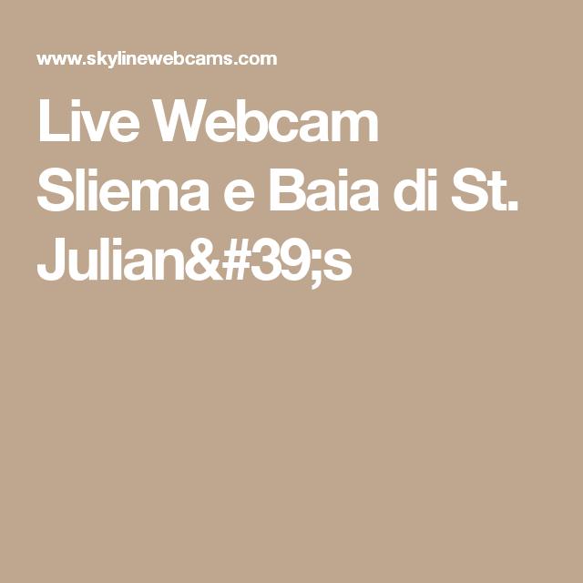 Live Webcam Sliema e Baia di St. Julian's